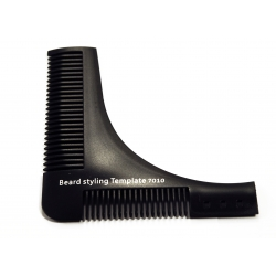 Barber hrebeň - na tvarovanie brady