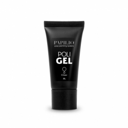 Gél na nechty - polygel - acryl gel 30ml - clear