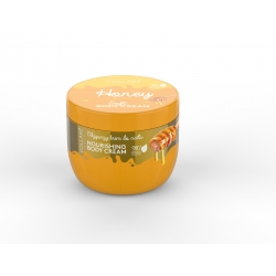 Telový krém - honey - 250ml