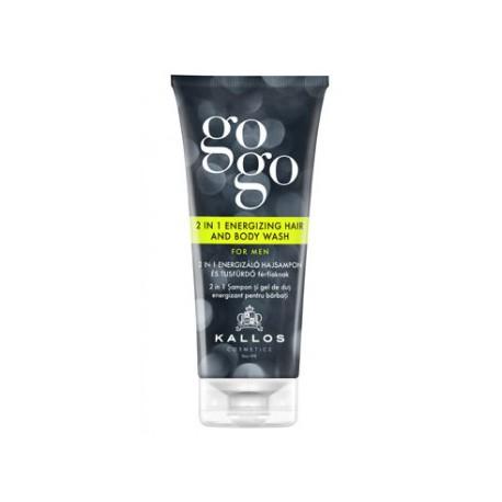 Vlasový a telový šampón pre mužov - GOGO- 200ml