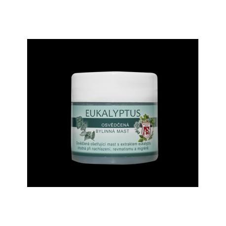 Bylinná masť 150ml-eukalyptus
