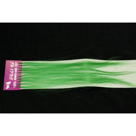 Farebné pramene zo živých vlasov