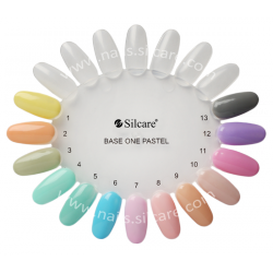 Vzorkovníky na UV gély- pastel