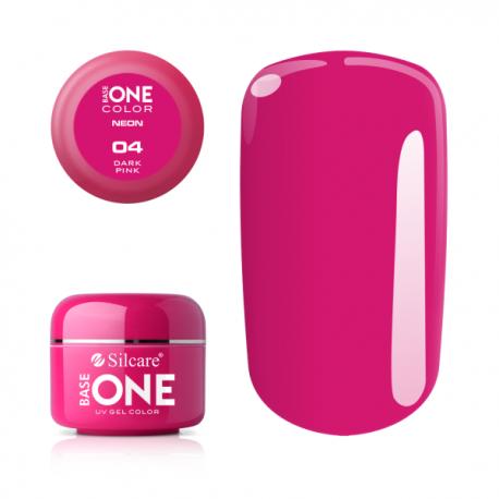 Gél na nechty-neon dark pink-4