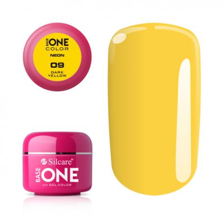 Gél na nechty-5g neon-dark yellow-9