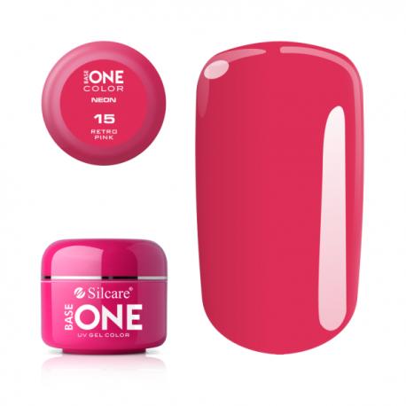 Gél na nechty-5g neon-neon retro pink 15