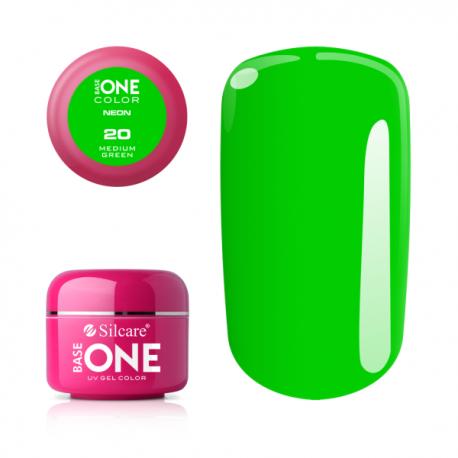 Gél na nechty-5g neon-neon medium green 20