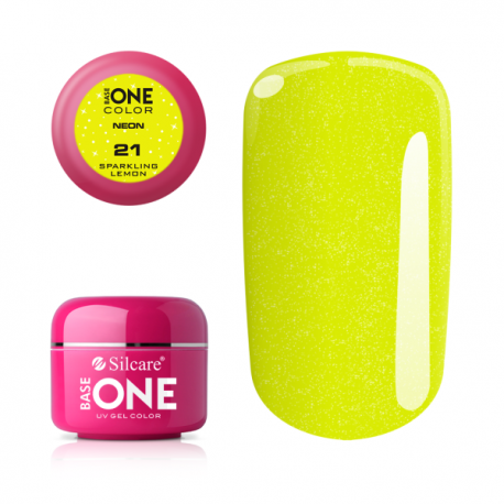Gél na nechty-5g neon-neon sparkling lemon 21