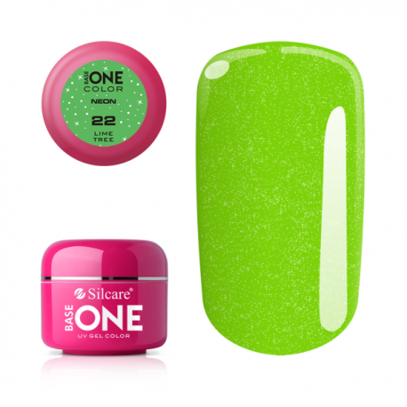 Gél na nechty-5g neon-neon lime tree 22
