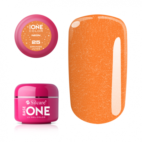 Gél na nechty-5g neon-neon orange juice 25