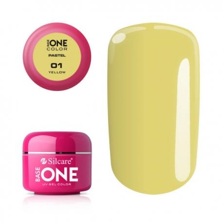Gél na nechty-pastel yellow-1