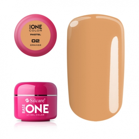 Gél na nechty-pastel orange-2
