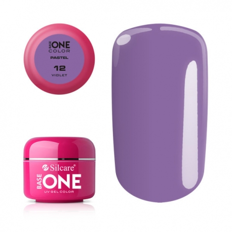 Gél na nechty-pastel violet-12