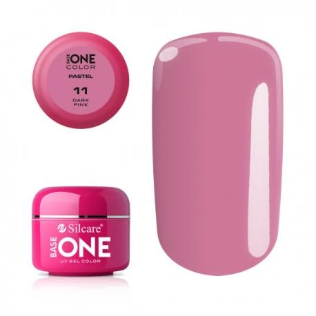 Gél na nechty-pastel dark pink-11