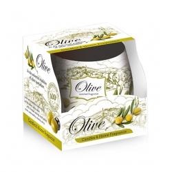 Vonná sviečka - olive